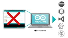 Forget the Arduino IDE: 5 Awesome Alternatives Vergessen Sie die Arduino IDE: 5 Awesome Alternatives – Learn Robotics Hobby Electronics, Electronics Projects, Raspberry Pi Computer, Learn Robotics, Arduino Programming, Robotics Projects, Robot Kits, Electrical Projects, Electrical Tools