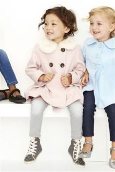 Buy Pale Pink Fur Collar Coat (12mths-6yrs) from the Next UK online shop