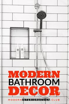Beautiful Modern Bathroom-Browse modern bathroom designs and decorating ideas. Discover inspiration for your modern bathroom remodel, including colors, storage, layouts and ... -- Read more info by clicking the link on the image. Modern Bathroom Decor, Bathroom Designs, Best Interior Design, Bathroom Interior Design, Funky Lamps, Decor Market, Used Chairs, Fun To Be One, Layouts
