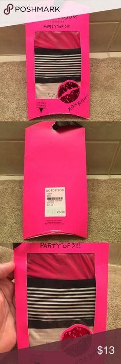 NWT Betsey Johnson 3pk g-string Brand new/ never opened 3 pack g-string Betsey Johnson Intimates & Sleepwear Panties
