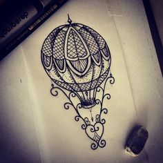 Desenho Delicado Balão More