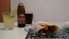 Kebab mignon + primator premium dark (american dark lager)_chef Gil
