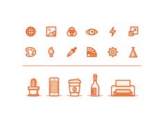 Assorted Faves by Axel Herrmann #icon #iconic #picto