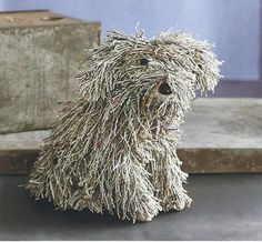 Not sure how they did this....made out of recycled newspapers!