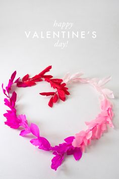 heart wreath ombre
