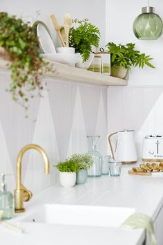 Start spring cleaning with Dunelm – the new kitchen storage range is a dream. Plantes Feng Shui, Feng Shui Plants, Kitchen Layout, New Kitchen, Kitchen Design, Kitchen Ideas, Green Kitchen Accessories, Kitchen Gallery Wall, Positive Energie