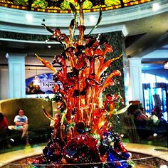 Beautiful sculpture at Gaylord Opryland Resort-it's beautiful in person!
