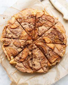 Apple Coffeecake — Local Haven Round Cake Pans, Round Cakes, Apple Tart Recipe, Caramelised Apples, Apple Coffee Cakes, Apple Slices, Cake Ingredients, Fall Recipes, Baking Recipes