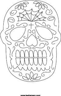Dia de los Muertos crafts...Cinco de Mayo crafts too! :)