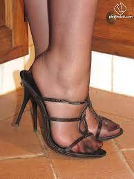 Znalezione obrazy dla zapytania pantyhose feet heels