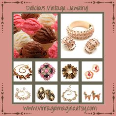 www.vintageimagine.etsy.com #vintagejewelry #vintagejewellry #giftsforher #vintagegifts #fashion #jewelry #vintagefinds #PlsFollowthx #costumejewelry #vintagebling #fashion #vintagefashion #vintagejewelry #jewelry #vintage #signed&unsignedbeauties