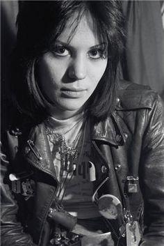 Joan Jett at 16-17. Photo by Chris Stein.