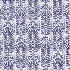 Dear Stella House Designer - Heirloom - Deco Floral in Indigo