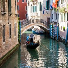 Is there anything more romantic than a gondola ride in Venice, Italy? This fine art print features a lone gondolier paddling down the canal as well as the gorgeous architecture that is quintessentiall