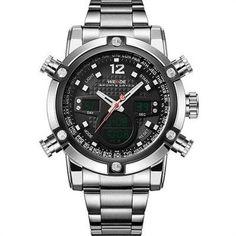 #NewYear #GearBest - #Gearbest WEIDE 2 Time Zones Men Sport Water Resistant 3ATM Men s Quartz Movement Military Original Weide Sports Watches For Men - AdoreWe.com