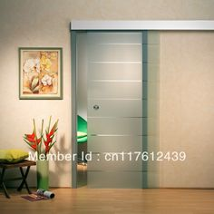 Free Shipping GSD04 sliding glass barn door kit glass door sliding hardware-in Doors from Home Improvement on Aliexpress.com $185.00 Sliding Glass Barn Doors, Sliding Barn Door Hardware, Glass Door, Cheap Doors, House Doors, Home Accents, My House, Home Improvement, Projects To Try