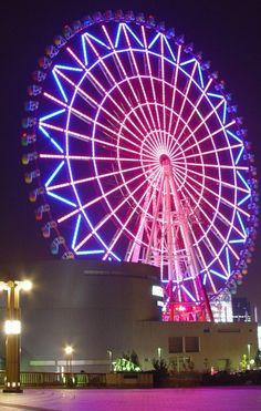 Odaiba Ferris Wheel, Toquio, Japan