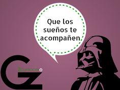 Que la fuerza y los sueños os acompañen ;) #humor #motivación http://gz2puntocero.com