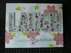 Hello and welcome aboard our 'Live Laugh Love' S1705 exclusive Stamp Of the Month, Australasian Close to My Heart Blog Hop. If you have...