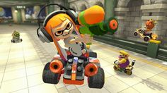 Mario Kart 8 Deluxe/Switch - Japanese software/hardware sales analysis   Media Create  - sold 285000 copies up through April 30th - down slightly from the original game on Wii U released May 2014 at 326000 copies first week - Switch sales have surpassed Wii U's 9-week total with Switch at 777k and Wii U at 758k in the same time  Dengeki  - 355000 copies in its first week - sold through 70 percent of its initial shipment  from GoNintendo Video Games