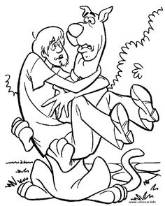 Free Scooby Doo Coloring Page Pages 40 Printable Find This Pin And More On Colouring Sheets