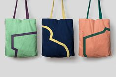 Broadgate by dn&co. #branding #design #totebags