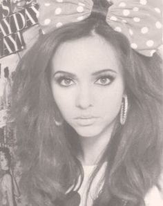 Jade Thirlwall. she's seriously so gorgeous and the cutest person ever. i want her hair.