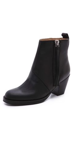 Acne Studios Pistol Booties - On my wishlist still Wedge Boots, Shoes Heels Boots, Heeled Boots, Ankle Boots, Trendy Shoes, Acne Studios, Autumn Winter Fashion, Me Too Shoes, Bag Accessories