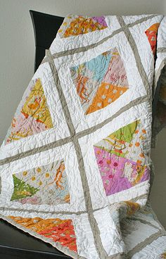 Urban Lattice Quilt Along...i want to make this for my next quilt project