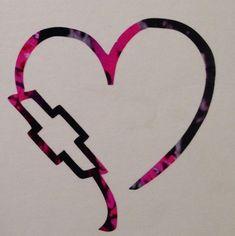 "Chevy Heart Emblem Vinyl Decal 5"" Truck Purple Pink Muddy Blue Camo Girl Country"