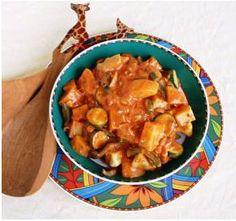 Veganer Afrikanischer Gemüsetopf...vegan african veggie stew Raw Vegan Recipes, Veggie Recipes, Vegetarian Recipes, Healthy Recipes, Veggie Food, Exotic Food, Vegan Dinners, International Recipes, Going Vegan