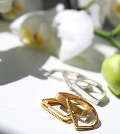Rings Gold and Silver by Maya Magal London