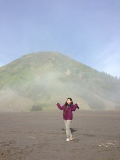 Batok mountain .... in bromo area
