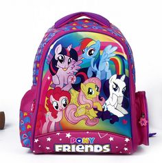 My Little Pony Schoolbag Girls Backpack //Price: $34.94 & FREE Shipping // #bags #lady