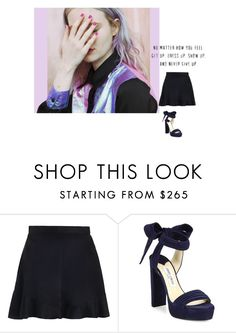 """""""Untitled #359"""" by montmartre1 ❤ liked on Polyvore featuring Zimmermann and Jimmy Choo"""