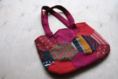 Quilted Shoulder Bag Purse by SewNotSari on Etsy, $25.00
