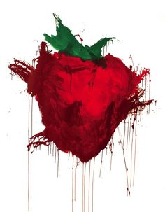 across the universe strawberry painting - Google Search