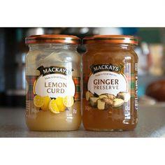 Ням-ням. #mackays #lemoncurd #gingerpreserve