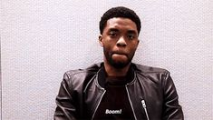 New party member! Tags: movies movie boom black panther chadwick boseman