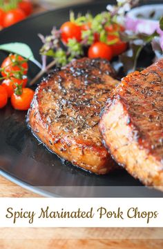This delectable pork chop recipe is great when served rice! It you want to make the meal juicier just double the sauce.