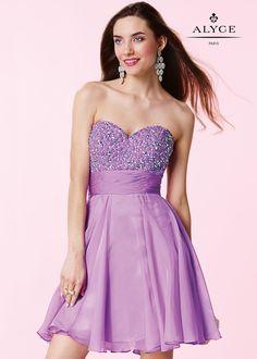 Alyce 3655 Shimmering Short Formal Dress
