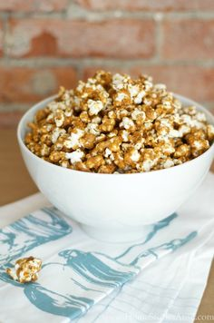 This caramel corn recipe is one of the best I have ever tasted! It is easy to make and produces a light, sweet, crunchy--not chewy--caramel corn that is sure to become a family favorite.