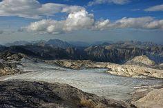 View from the HochKoenig -Elevation of Salzburg Slate Alps, St Johann im Pongau, Austria - MAPLOGS