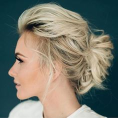 In love with this #chic, #classy #hairstyle