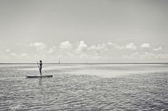 Stand Up Paddling in Caye Caulker, Belize