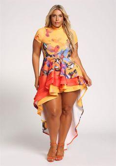 Stylish Plus-Size Fashion Ideas – Designer Fashion Tips Plus Size Fashion For Women, Curvy Women Fashion, Fashion Models, Girl Fashion, Cheap Fashion, Look Plus Size, Plus Size Girls, Plus Size Women, Plus Size Dresses