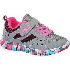 #Fila #Sneaker #grau für #Kinder Das kreative Design des Sneakers von Fila setzt…