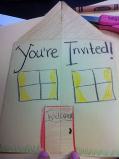 open house, back to school night ideas