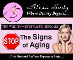 Stop the signs of aging   www.alexasady.com