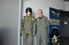 Suited up for Simulator Flight
